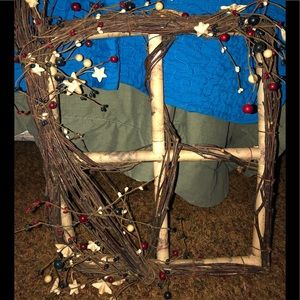 Other - Primitive wooden faux window
